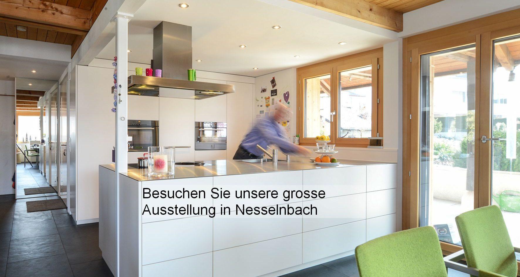 Permanente Küchenausstellung mit Schreinerei in Niederwil, Freiamt