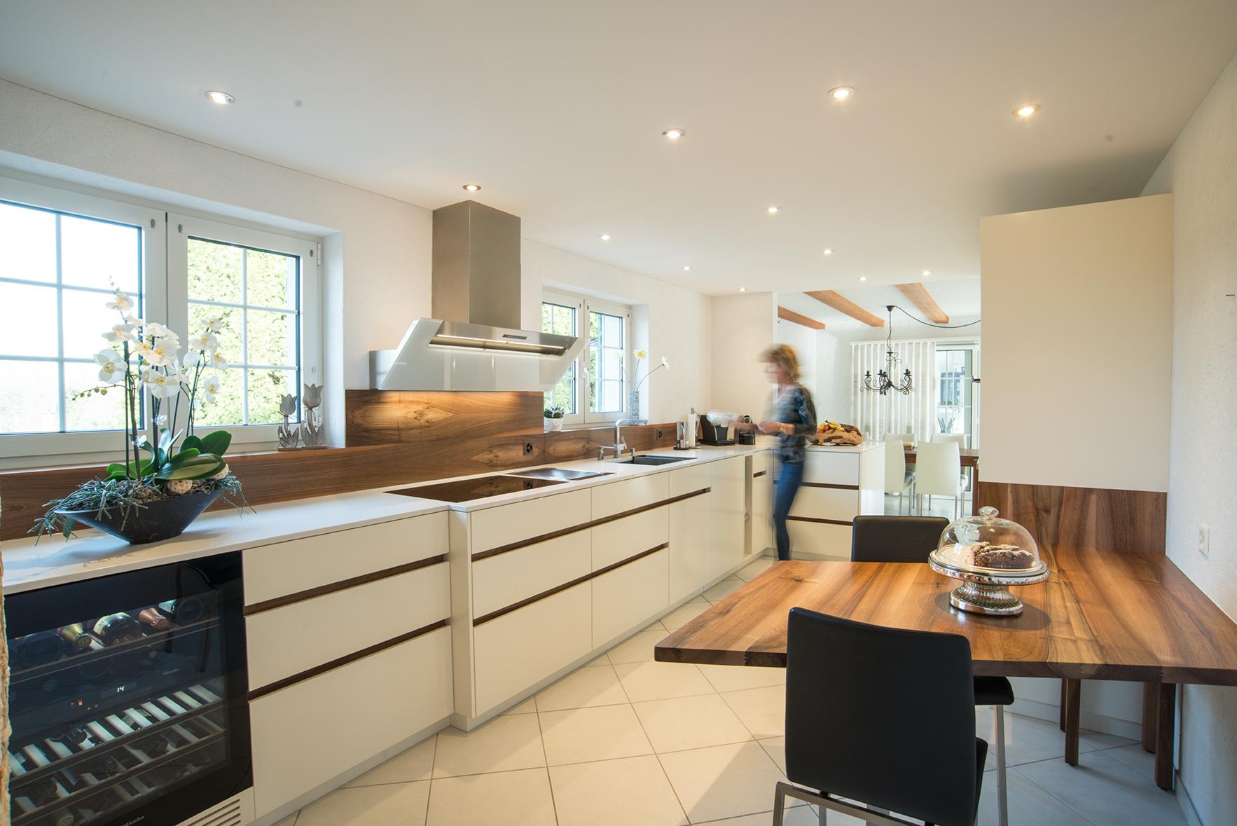 Küche in Niederwil - Nerozzi + Rösch