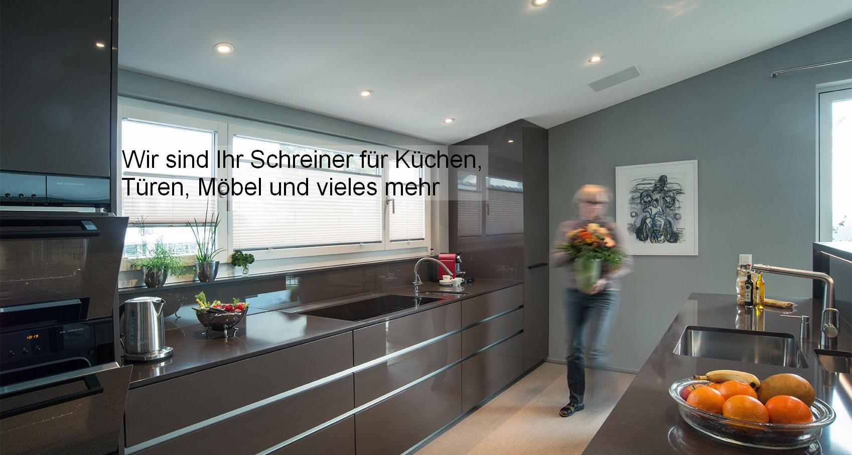Schreinerei für Küchenbau, Aussen- und Innentüren, Möbel, Einrichtungen